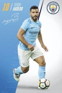 Image is loading SERGIO-AGUERO-Signature-Series-2018-Manchester-City-EPL- 77c54c94eb3