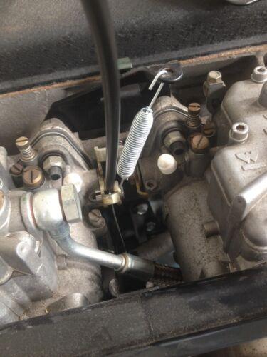 Mk1 escort avo twincam mexico RS1600 throttle cable retour printemps