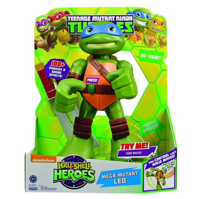 "Teenage Mutant Ninja Turtles Pre-Cool Half Shell Heroes 12"" Mega Mutant Leonardo"