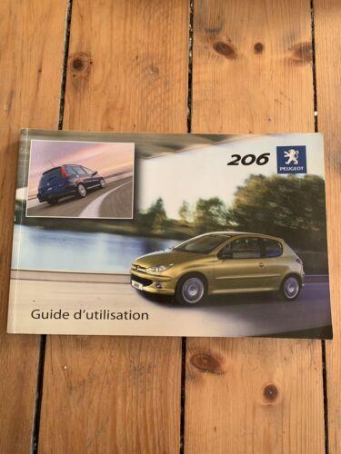 Manuel Notice D Utilisation Peugeot 206 Et 206 Sw 2004