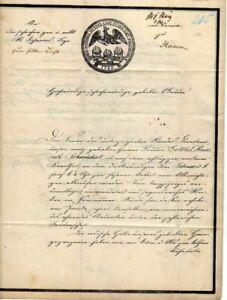GERMANY-1862-Stampless-Folded-Lett-Berlin-Hamm-Loggia-Massonica-15564