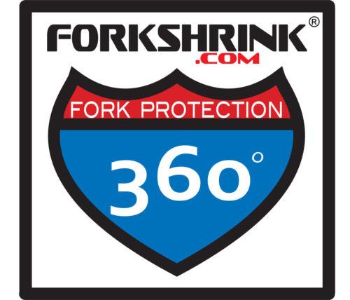 Fits KYB Forks Silver FORKSHRINK 360 CHROME HONDA CR CRF 125 250 459 500
