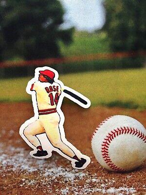 Weitere Ballsportarten Cincinnati Reds Pete Rose Patch-perfect Für Hemden Und Caps-classic Sammlerstück Den Speichel Auffrischen Und Bereichern Fanartikel
