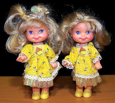 1988-89 Mattel Cherry Merry Muffin Banancy Dolls - VGC