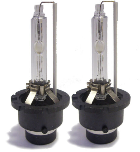 Pair D4S Xenon HID Gas Discharge Headlight Bulbs Replacement Spare Part