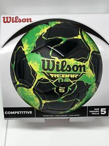 Wilson-Rebar-NG-Soccer-Ball-Black-Optic-green-size-5