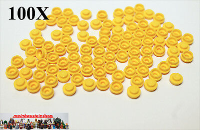 4073 runde Platten round Plate 1X1 Rot Red NEU 30X Lego® 6141