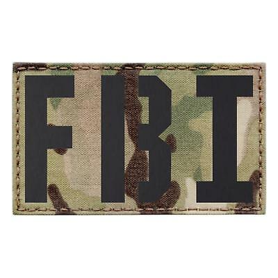 Details about  /IR big 3x5 police USA american multicam plate carrier morale infrared patch