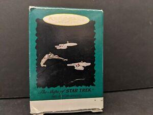 Hallmark-Star-Trek-Chrismas-Ornament-Ships-Of-Star-Trek-Set-Of-3-Ornaments