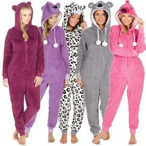 Ragazze Animale Pigiami in Pile Novità Nightwear