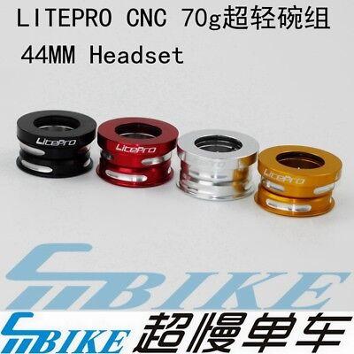 Litepro 44mm CNC Bearing Headset for Dahon Folding Bike BYA412 SP8 MUP8 SP18