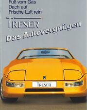 Treser Roadster Prospekt, 1987