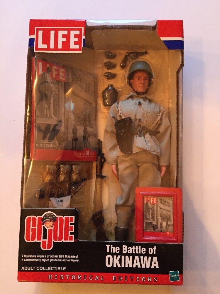 2002 Gi Joe LIFE The Battle Of Okinawa Action Figure MISB (B51)