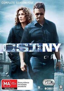 CSI-NY-Season-5-DVD-6-Disc-Set-NEW