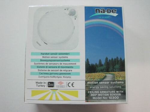 Plafonniers lampes de plafond Lampe avec détecteur mvt Capteur Lampe Nouveau OVP