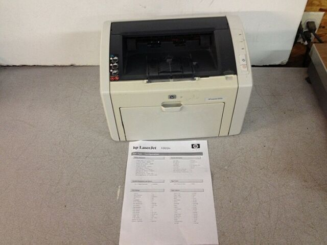 HP LASERJET 1022N PRINTER WINDOWS 10 DRIVERS