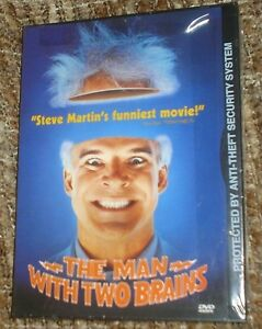 The-Man-With-Two-Brains-DVD-1999-NEW-SEALED-STANDARD-VERSION-REGION-1