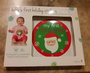 New In Box Nib Tiny Ideas 14 Pack Babys First Holiday Photo Prop