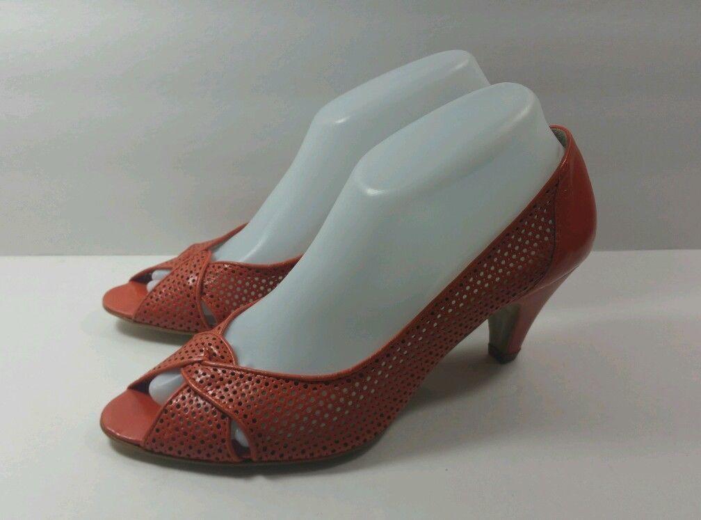 Jeffrey Campbell orange Open Toe - Size 39