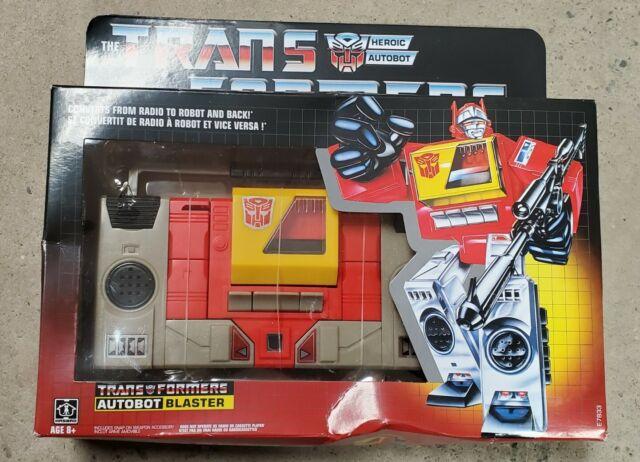 Transformers G1 Reissue Autobot Blaster NIB Sealed
