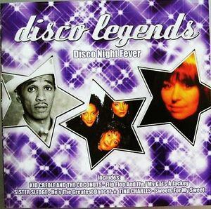 Compilation-CD-Disco-Legends-Disco-Night-Fever-England-M-M-Scelle