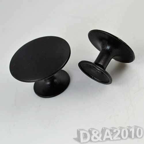 Matte Round Kitchen Wardrobe Drawer Cabinet Cupboard Door Pull Knob Handle S//L