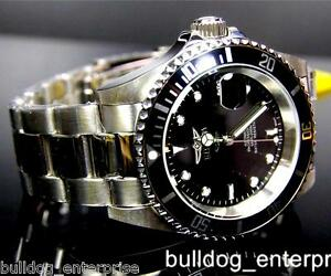 Mens-Invicta-Pro-Diver-Black-8926OB-8926C-NH35A-Automatic-Coin-Bezel-Watch-New