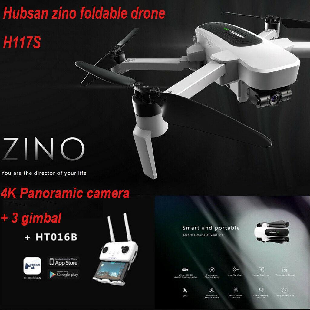 Hubsan zino h117s drone, GPS WIFI FPV 4k cámara 3 Axis Gimbal quadcopter Drone