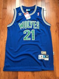 18a18c7f548 Image is loading NWT-Kevin-Garnett-21-NBA-Minnesota-Timberwolves-Swingman-