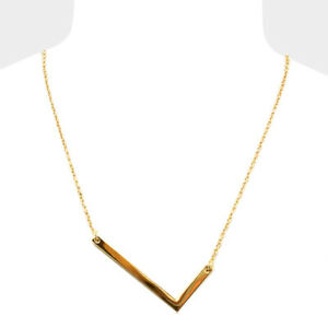 Initial necklace side letter l thin large monogram 175 image is loading initial necklace side letter l thin large monogram aloadofball Images