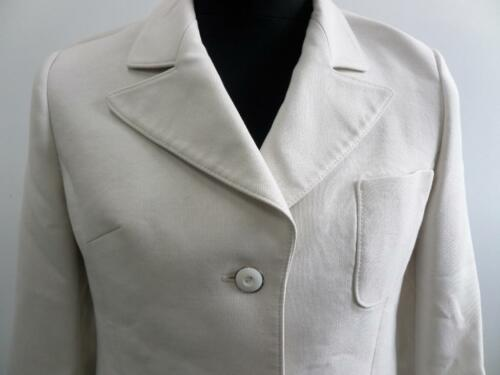 Jakke 32 80's Cream Jacket Kvinders 32 Formel Størrelse Vtg Womens 80's Cream Size Formal Vtg T6Taqnt