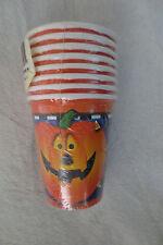 Halloween Smiling Pumpkins Party Deco Cups 8-9oz
