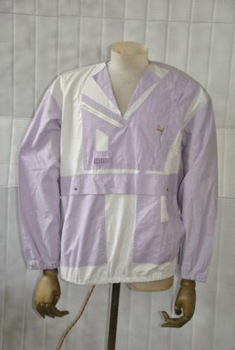 Lila Oberhemd Detailarbeit 80er 80s Weiß Sweatshirt Pullover True Shirt Vintage vTSBqxPZWw