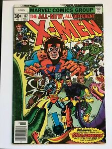 Uncanny-X-Men-107-FN-VF-7-0-1st-Gladiator-Raza-Titan-Hepzibah-Mentor