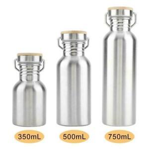 Wasserflasche-Edelstahl-Vakuum-Trinkflasche-Sport-Deckel-Flaschen-500-750-1000ml