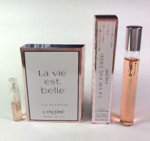 Lancome La Vie Est Belle Lot Rollerball And Mini Spray