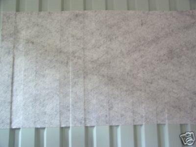 3.99eur/m² Antikondensvlies Für Trapezbleche Trapezblech Vlies Fürs Dach Trapezbleche & Wellplatten