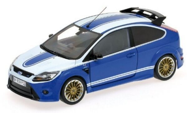 Ford Focus RS 2010 Le Mans Classic Edition (bluee) 1 18