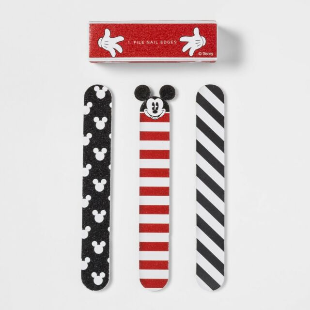 Disney Mickey Mouse Target Nail File Gift Set NWT Red