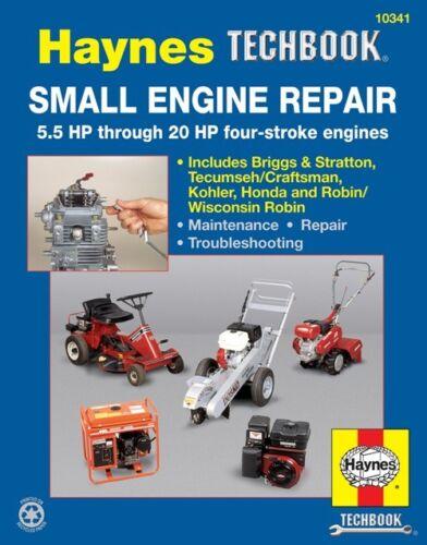 Haynes Techbook Small Engine 5.5-20 HP Four Stroke Engines Repair Manual 2983