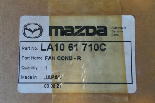 NEW OEM Mazda MPV A//C Condenser Fan Assembly Front Air Conditioner
