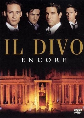 Encore by Il Divo (DVD, 2013) All Regions DVD Used in VGC with Free Postage