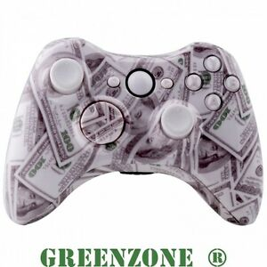 $100 Dollar Custom Replacement Xbox 360 Controller Shell ...