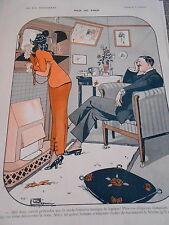 Pile ou Face Maquillage Chapeaux masque visage Léonnec Print Art Déco 1912