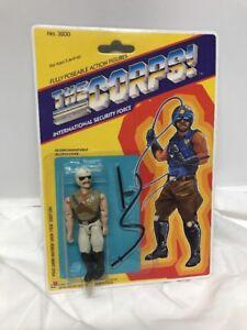 Vintage 1990 Lanard Toys    Figurine Action Chopper Nouveauté!   the Corps  3,75   3.75