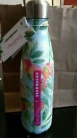 Lilly Pulitzer + Starbucks S'well Water Bottle - Blue Peaches