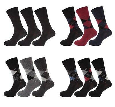 Ladies Black 3 Pack Cotton Rich Socks SK137