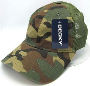 29cbf99c1137e Image is loading Green-Camouflage-Snapback-Cap-Unconstructed -Camo-Mesh-Trucker-
