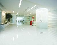 White Porcelain Floor Tiles 60 x 60 cm 10mm Gloss Nano Polished Grade AAA New