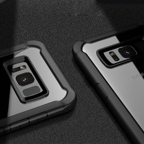Cover Case Silicone + Vetro Temperato Samsung Galaxy S8+ Plus Shockproof Bumper